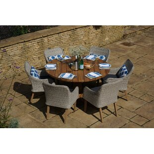 Sheetal 6 Seater Dining Set With Cushions By Sol 72 Outdoor