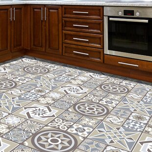 Walters 120x60 cm Mosaic Tile in Grey/Beige by World Menagerie