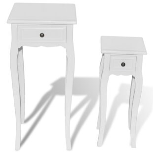 Pedestal Nesting Telephone Table By Lily Manor