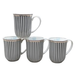 Everyday 12 Oz Coffee Mug Set Of 4