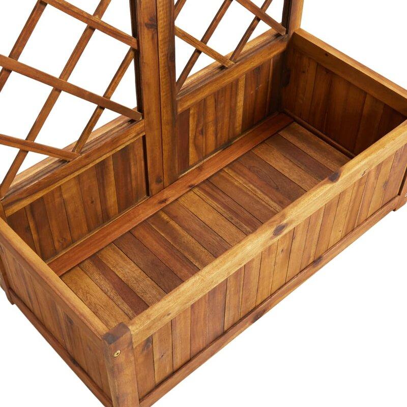 Vidaxl Wood Lattice Panel Trellis Wayfair