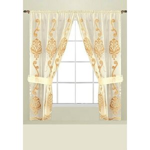 Isaiah Bathroom Curtain Panels (Set of 2)