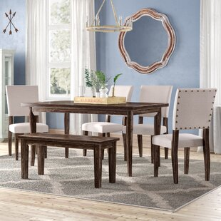 Kenna 6 Piece Dining Set Ophelia & Co.