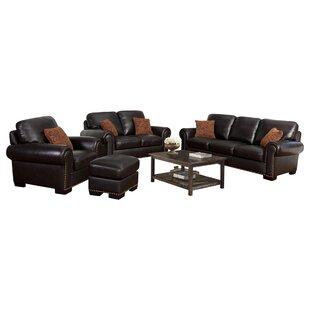 Canora Grey Alvis Leather Configurable Li..
