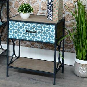 Nachttisch mit 1 Schublade von ChâteauChic