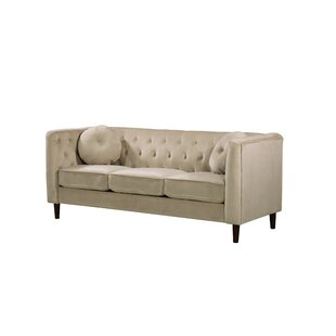 Gladiolus Chesterfield Sofa by Mercer41 2019 Sale