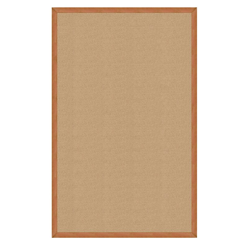 Darby Home Co Nannette Hand Tufted Sisal Gold Area Rug Reviews Wayfair