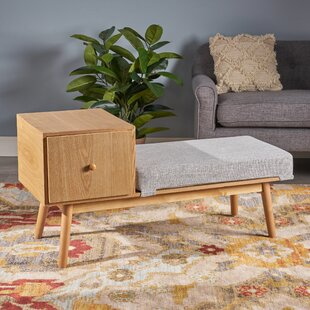 George Oliver Lynnfield Wood Storage Bench