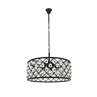 Read Reviews Morion Transitional 6-Light Pendant By Mercer41