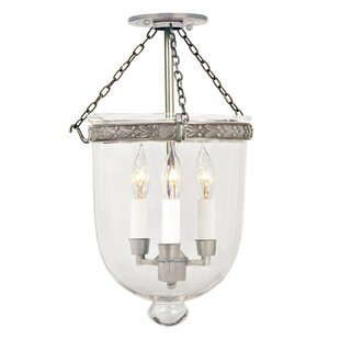 JVI Designs 3-Light Urn Pe..
