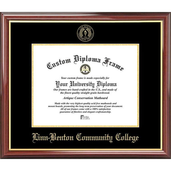 Diploma Frame Deals Linn Benton Community College Petite Picture Frame Wayfair