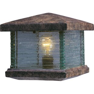 Bargain Triumph VX 1-Light Fence Deck Lantern By Maxim Lighting