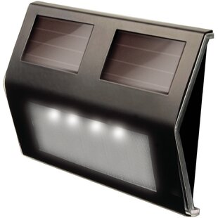 Maxsa Innovations Solar Deck 4 Light Pathway Light