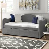 Camden Twin Daybed with Trundle by Rosdorf Park
