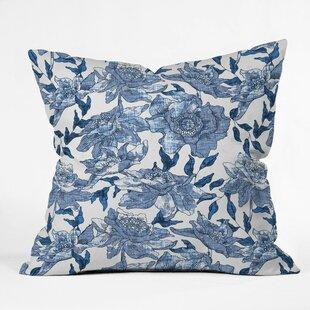 Summertime Outdoor Throw Pillow