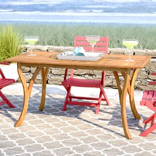 Coyne Solid Wood Dining Table by Beachcre..