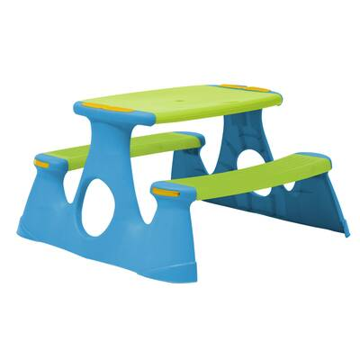 Little Tikes Easy Store Kids Picnic Table Reviews Wayfair