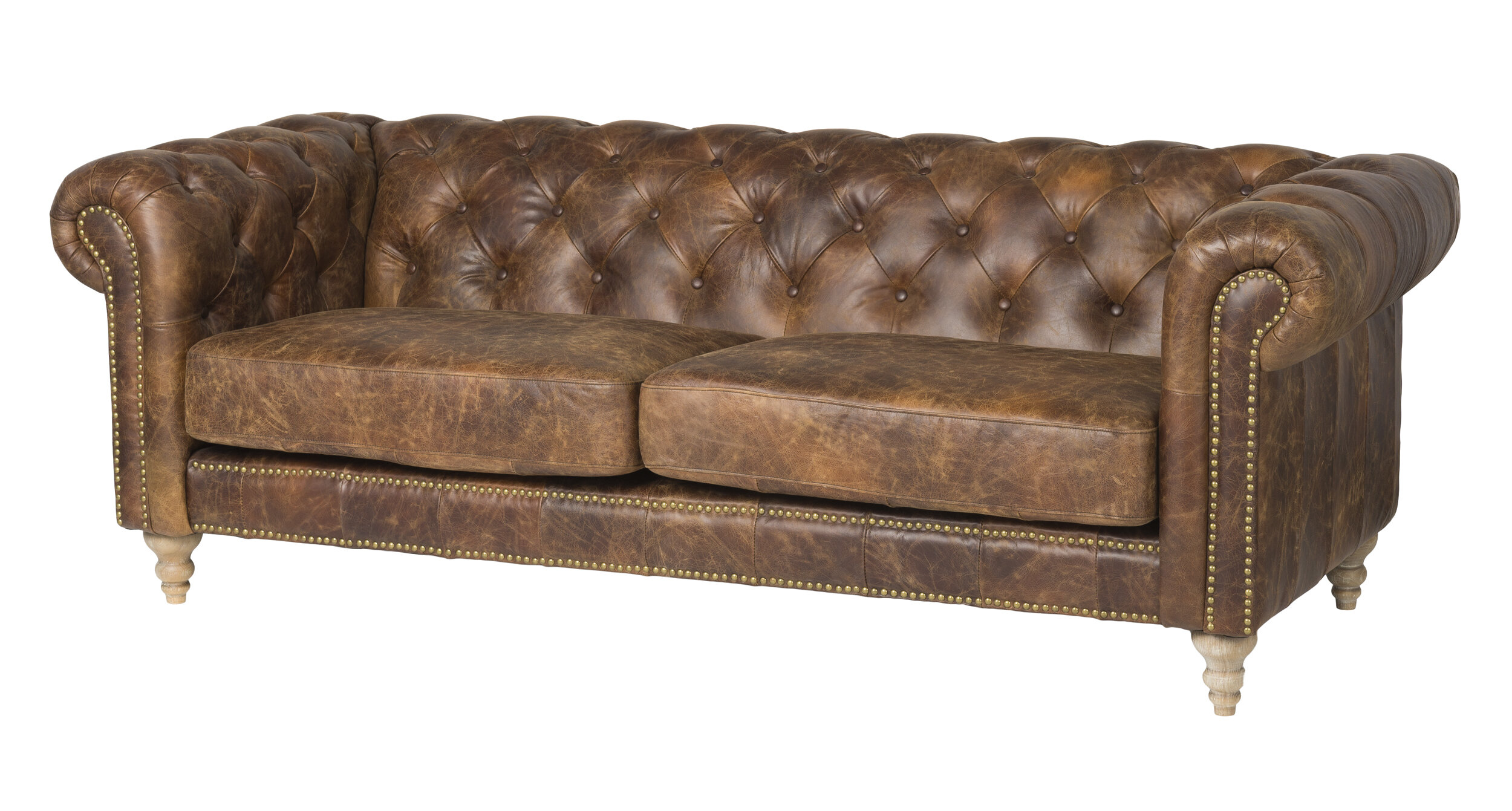 Wayfair Chesterfield Leather Sofas You Ll Love In 2021