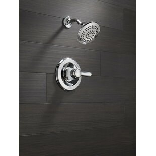 Delta Lahara Thermostatic Shower Faucet Trim with Lever Handles and H2okin..