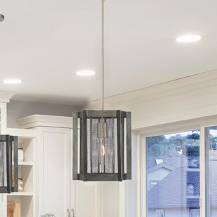 Colangelo 1-Light Square/Rectangle Pendant by Williston Forge