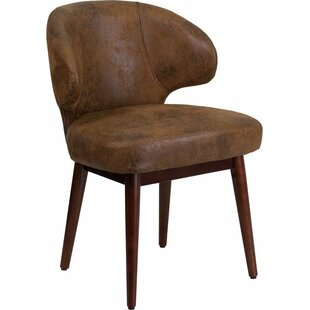 Compare prices Mccrea Curved Back Guest Chair by Latitude Run