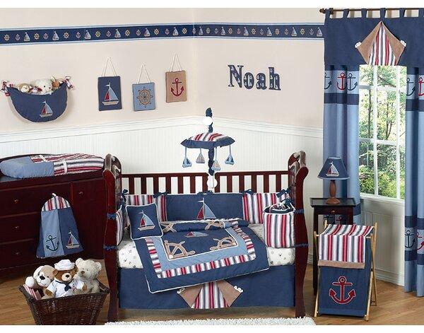 Nights 9 Piece Crib Bedding Set