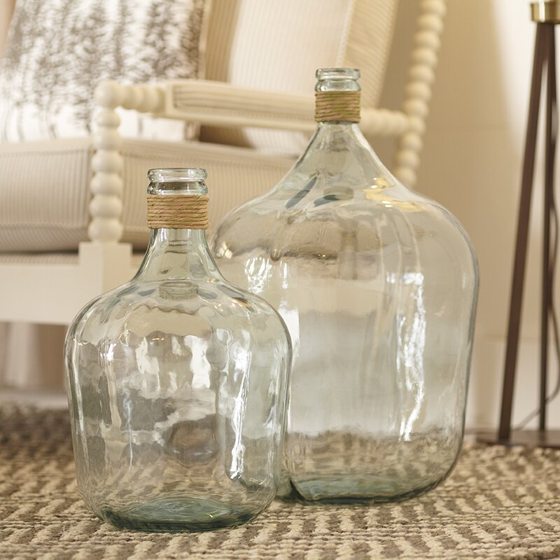 Birch Lane Recycled Glass Table Vase Amp Reviews Birch Lane