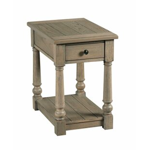 Trixie End Table with Storage by Alcott Hill