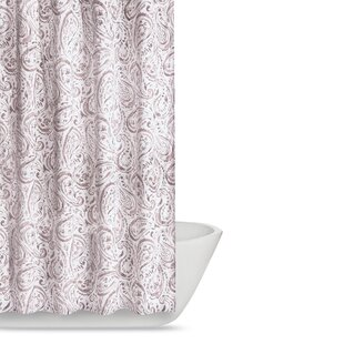 Best Choices Newburgh Paisley Watercolor Shower Curtain ByAndover Mills