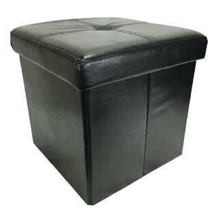 Inexpensive Collapsible Storage Ottoman By Wee's Beyond