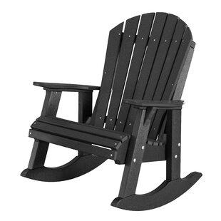 Patricia High Fan Back Rocker Chair