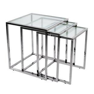 Online Reviews 3 Piece Nesting Tables ByRMG Fine Imports