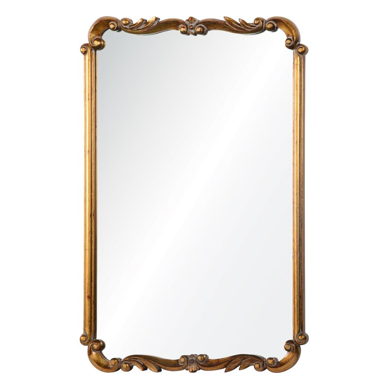 Accent Mirror - PLEASE COME SEE Traditional Style Bathroom Vanity Design Inspiration as well as Vintage Bath Ideas. #bathroomdesign #bathroomvanities #interiordesign