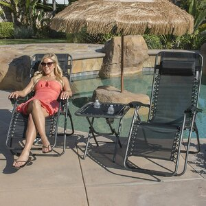 Deluxe 3 piece Recliner Chair Set