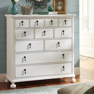 Pennock 6 Drawer Dresser with Mirror by One Allium Way