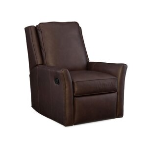 Barnes Leather Power Wall Hugger Recliner by Bradington-Young