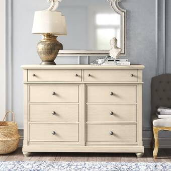 Kelly Clarkson Home Ornithogale 9 Drawer Double Dresser Reviews Wayfair