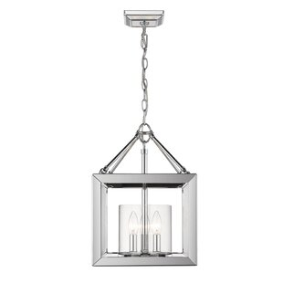 Three Posts Thorne Convertible 3-Light Semi Flush Mount