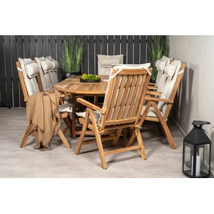 Baek 8 Seater Dining Set With Cushions By Sol 72 Outdoor