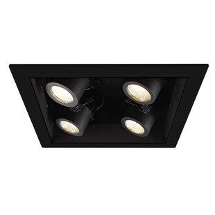 WAC Lighting Precision LED Multi-Spotlight Recessed Lighting Kit