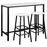Brodey 3 - Piece Counter Height Dining Set by Latitude Run®