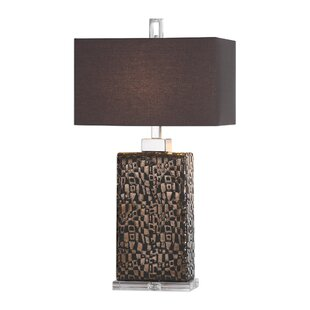 Dunstable Etched 30 Table Lamp