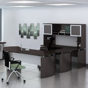 Medina Series 3-Piece U-Shape Desk Office Suite