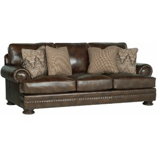 Foster Leather Sofa by Ber..