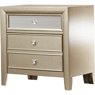 Gottfried 2 Drawer Nightstand