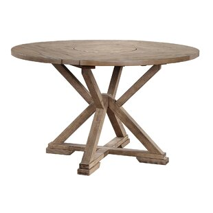 Clifford Drop Leaf Lazy Susan Counter Height Dining Table