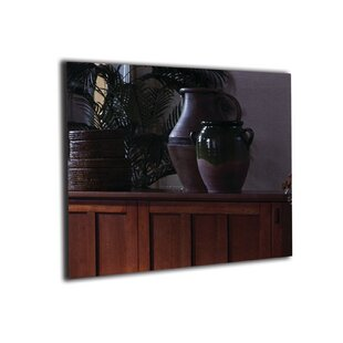 Mirror Onyx� Wall Mounted Electric Fireplace by Touchstone