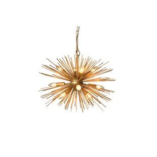 Mercer41 Kuebler 12-Light Sputnik Chandelier