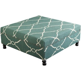 Findley Flatweave Cocktail Ottoman
