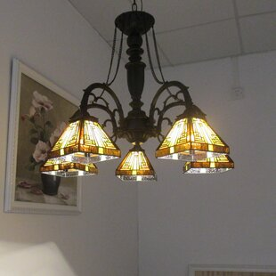 Find the perfect Fraire 5-Light Shaded Chandelier By Loon Peak